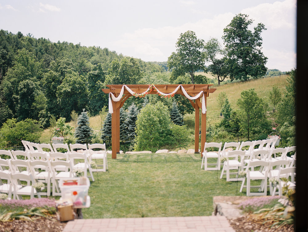 glasbern inn ceremony