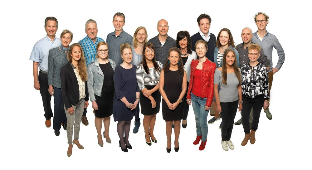 Het team van Vreugdenhil tandartsen