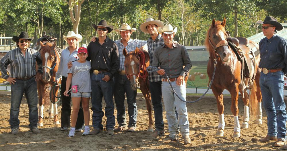 Allievi e maestro - Riders and instructor