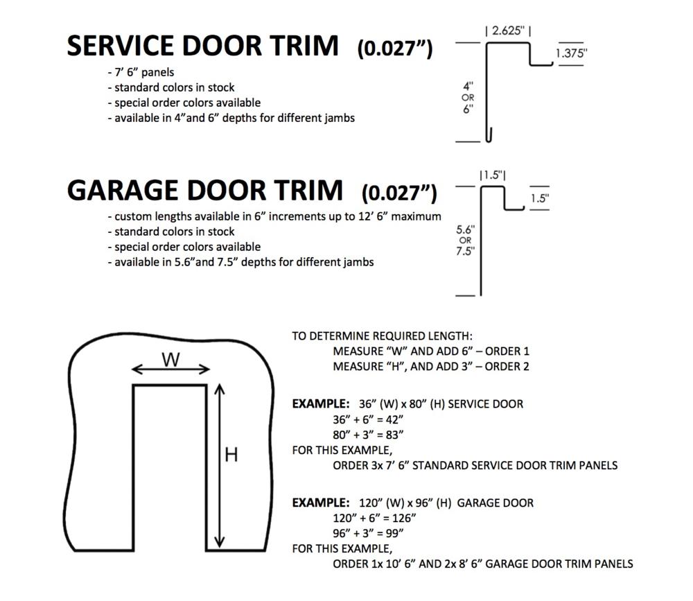 Door Trim Measurements \u0026 Two Light Door Trim To Size Service\