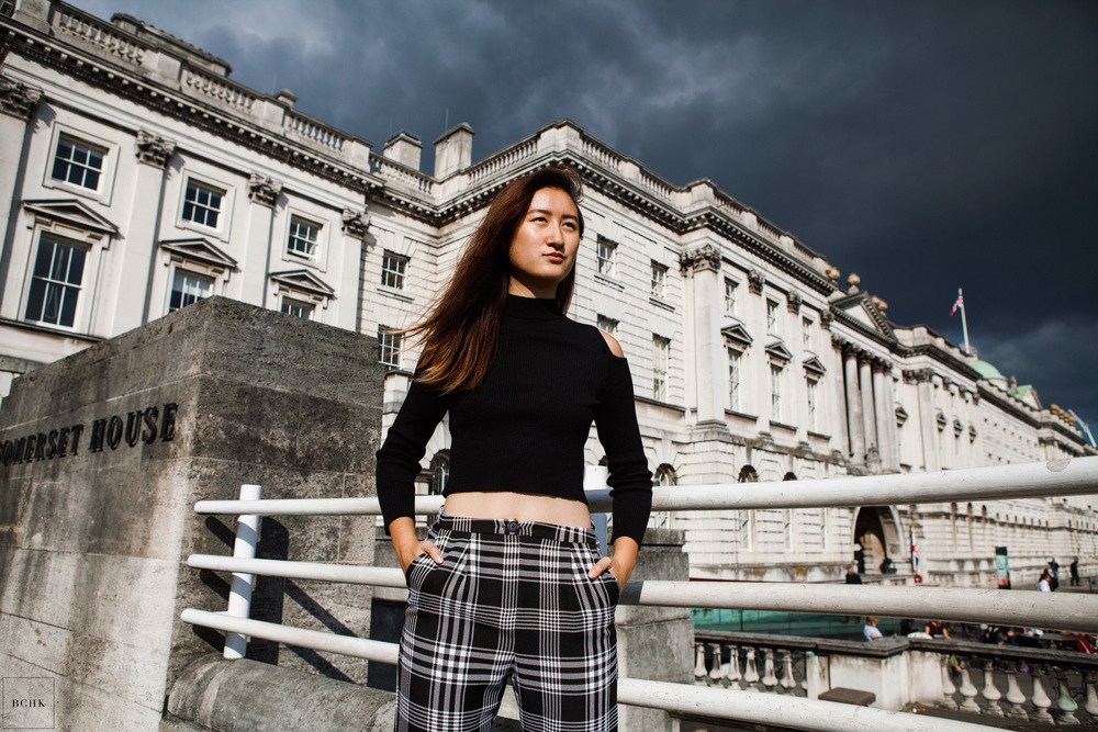 Mildred shot by Brian HK Chan (BCHK) at Somerset House, London