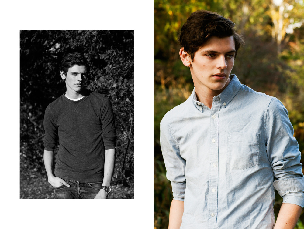 Alistair Waterfield at Elite London shot by Brian HK Chan