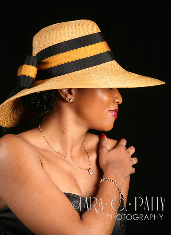 Model for a session for KAM Hats, Colorado Springs