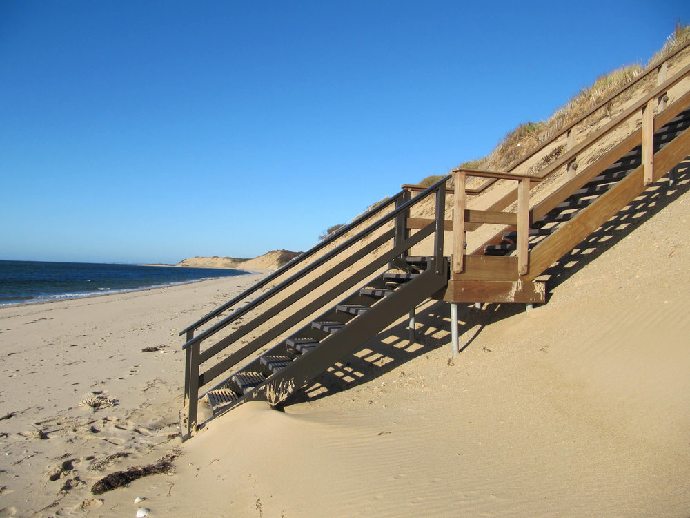 Hinged Beach Stair