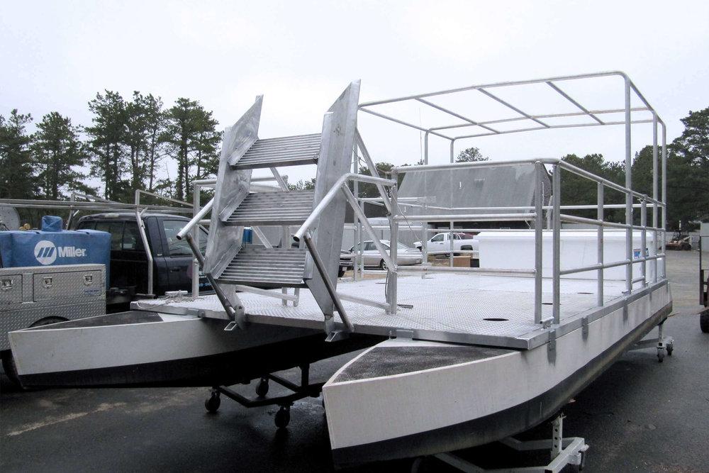 Aluminum Pontoon Boat