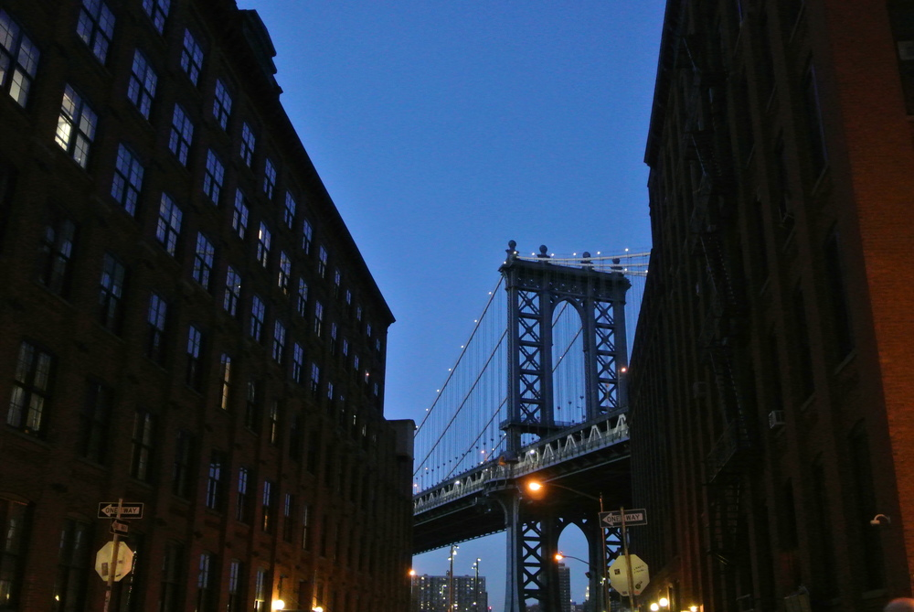 Manhattan Bridge in Brooklyn