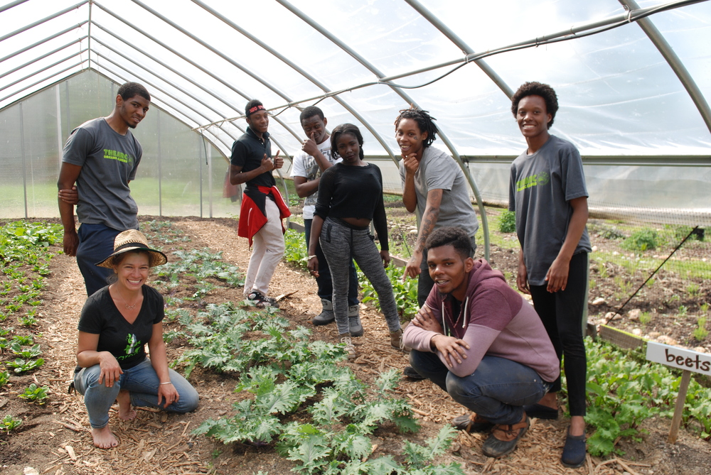 Food For Life at THEARC's Organic Garden