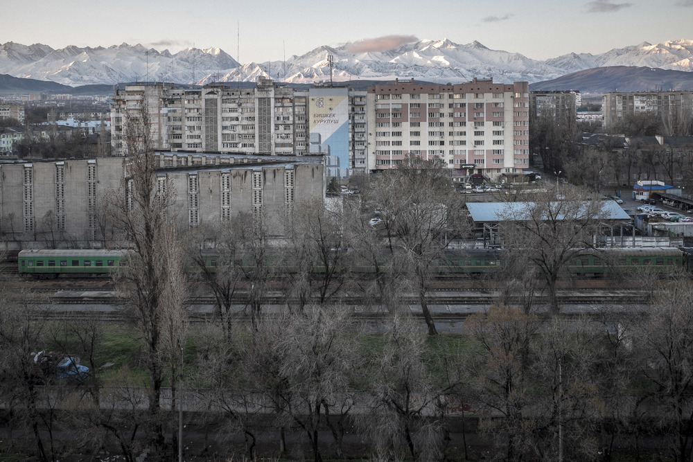 Train station. Bishkek, Kyrgyzstan, 2015