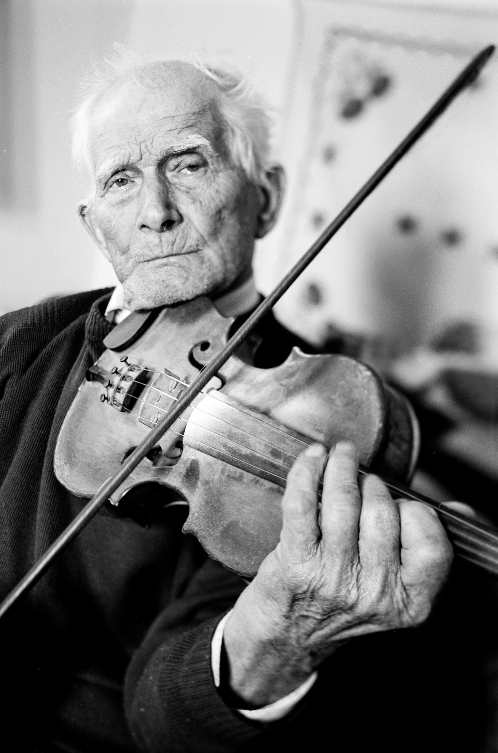 Violin player. Firtosmartonos, Romania, 2008