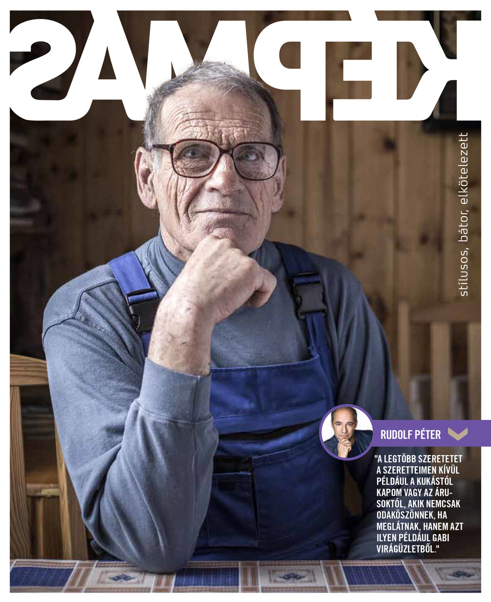 Képmás magazine (Hungary), back cover, 2015