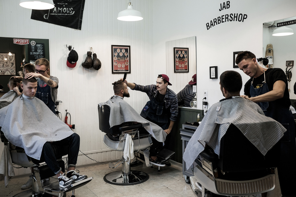 Jap Barber shop, Astrakhan