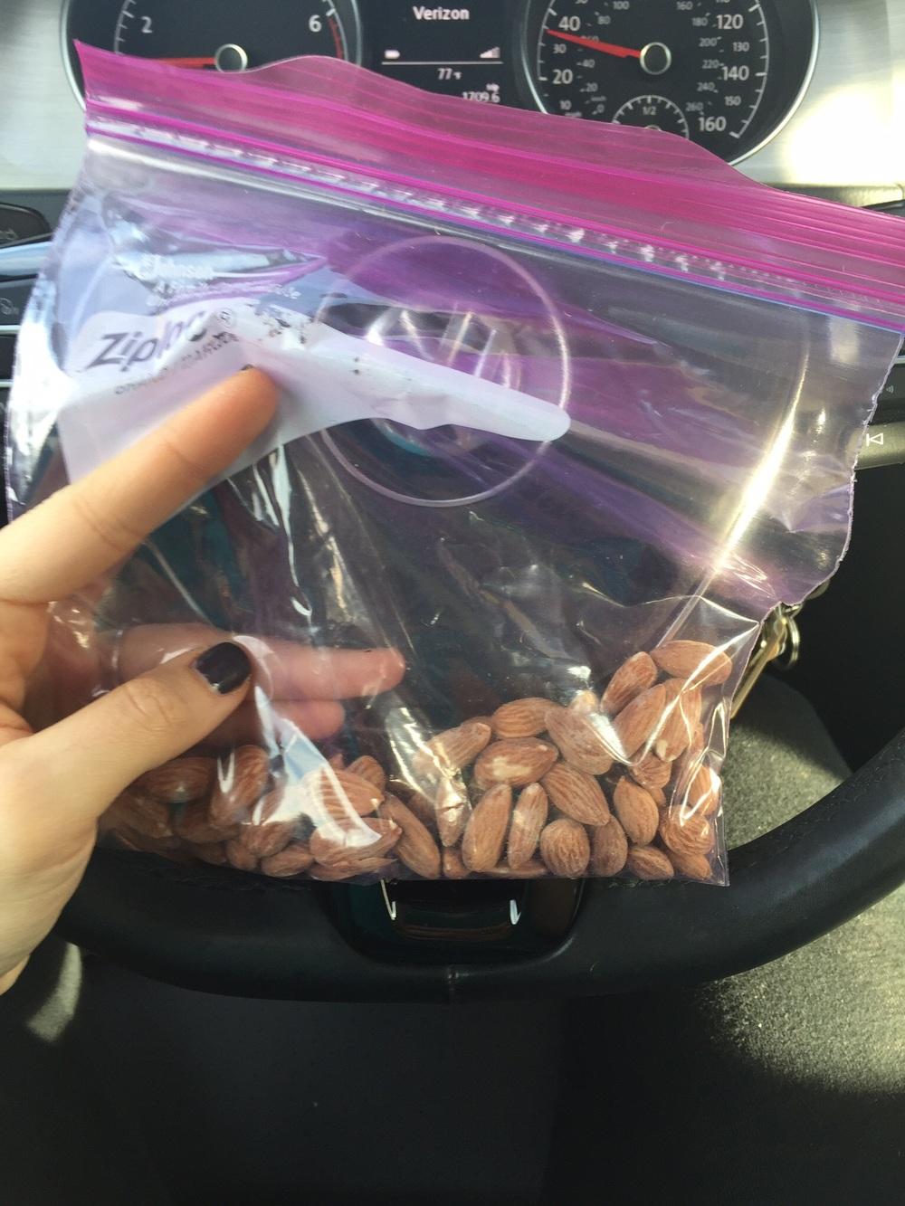 Almonds yummmm :)