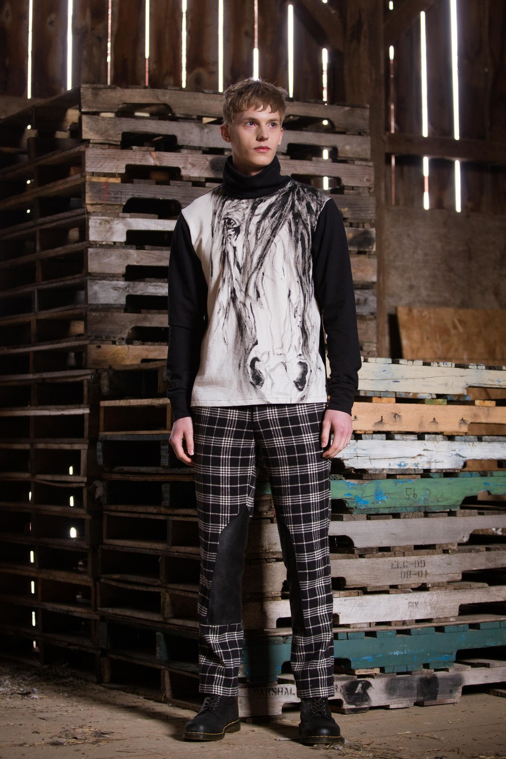 LOOK 8 Plaid Pants Horse Print.jpg