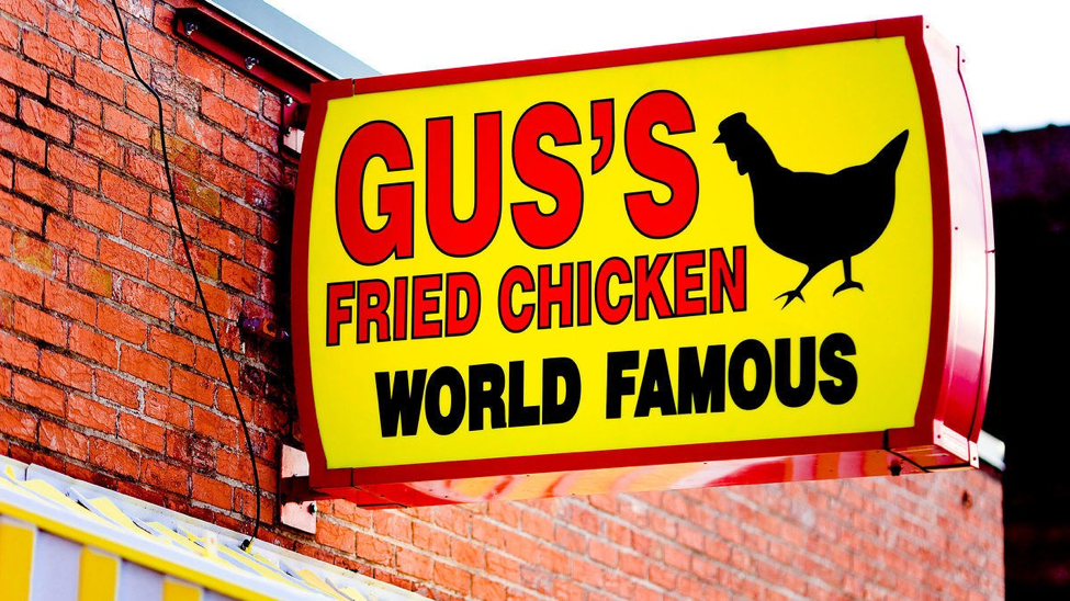 Gus's World Famous Fried Chicken   photo by Thomas Hawk, Flickr