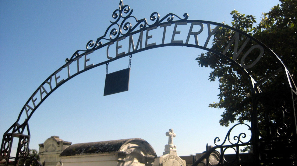 Lafayette Cemetery No. 1, near the French Quarter in New Orleans, Louisiana.