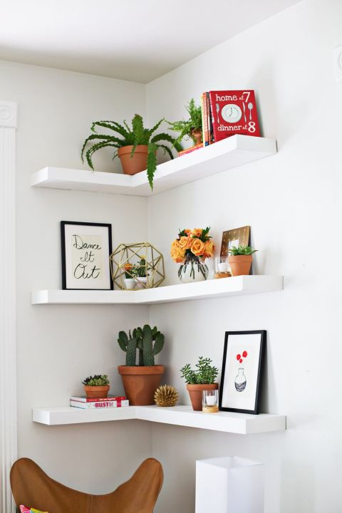 Open Wall Shelving | Home Organization | www.foundandkept.com