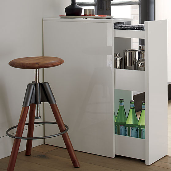 Modern Storage Cabinet | CB2 | Home Organization | www.foundandkept.com