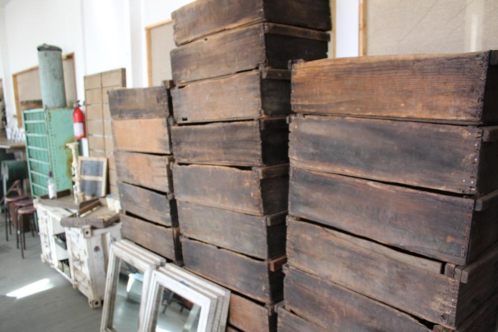 Reclaimed Crates | Silverado Salvage | www.foundandkept.com