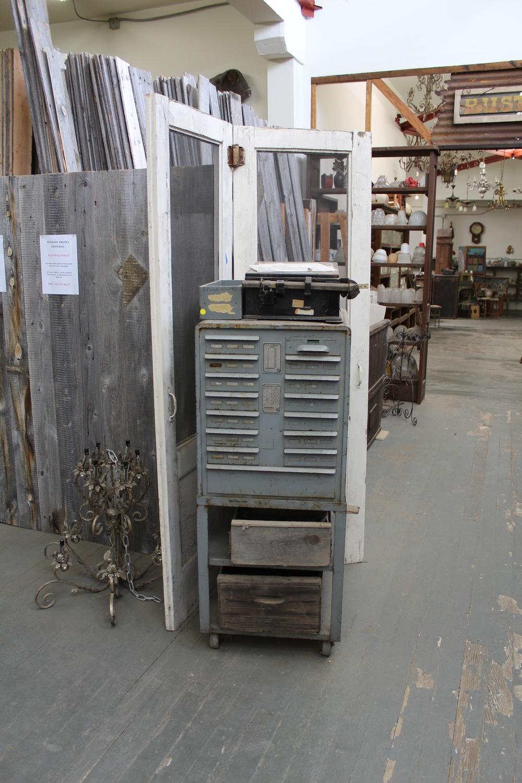 Architectural Pieces | Vintage File Cabinet | Silverado Salvage | www.foundandkept.com