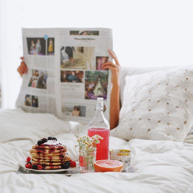 Dream Breakfast in Bed | www.foundandkept.com