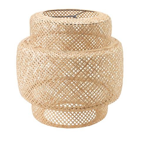 Sinnerlig Basket Woven Pendant | www.foundandkept.com