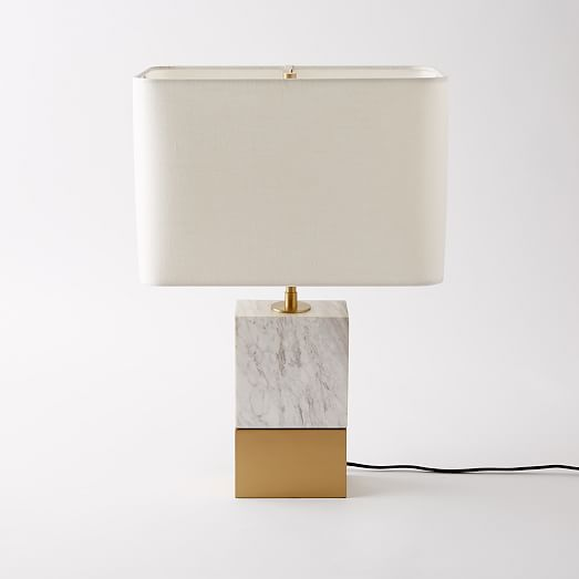 Mia Table Lamp West Elm | www.foundandkept.com