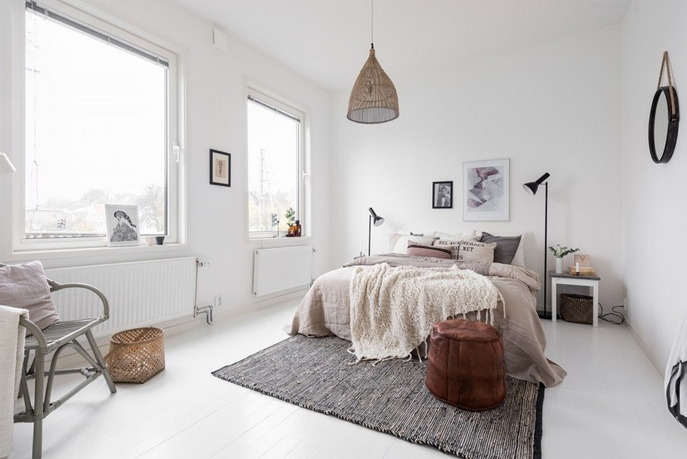Boho Minimalist Bedroom | Interior Design | www.foundandkept.com