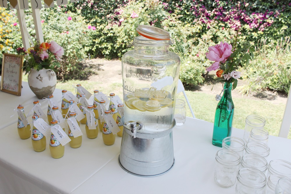 Citrus Infused Bridal Shower | Found + Kept | www.foundandkept.com