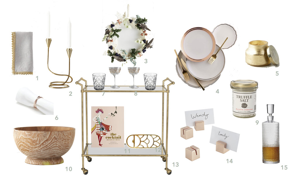 Friday Faves | Holiday Entertaining Essentials | www.foundandkept.com