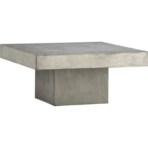 Friday Faves MustHave Coffee Tables For An Almost Er FOUND - Cb2 slab marble coffee table