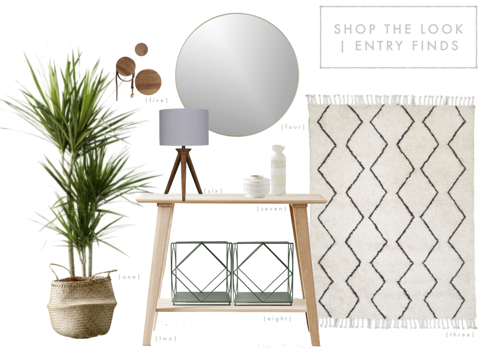 Shop the Look | Breathtaking Entryways | www.foundandkept.com
