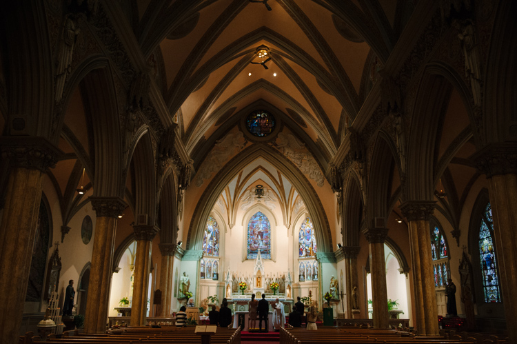 OUR LADY OF VICTORIES WEDDING IN BOSTON_072