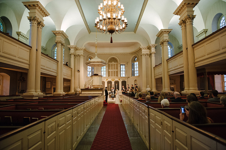 kings chapel wedding boston