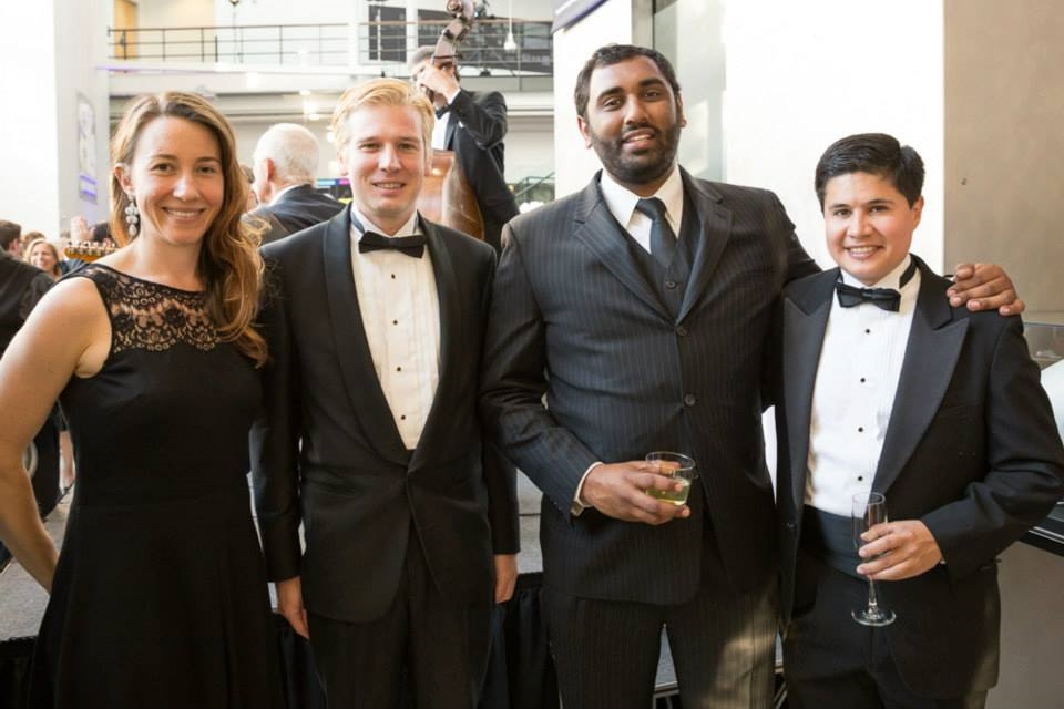 2014 Computer History Museum Fellows Awards with a few of my fellow CHM board members (from left to right): me, Bobby Johnson (CTO at Interana), Sunil Nagaraj (Vice President at Bessemer Venture Partners), Alec Detwiler (Business Development for Apple Pay)