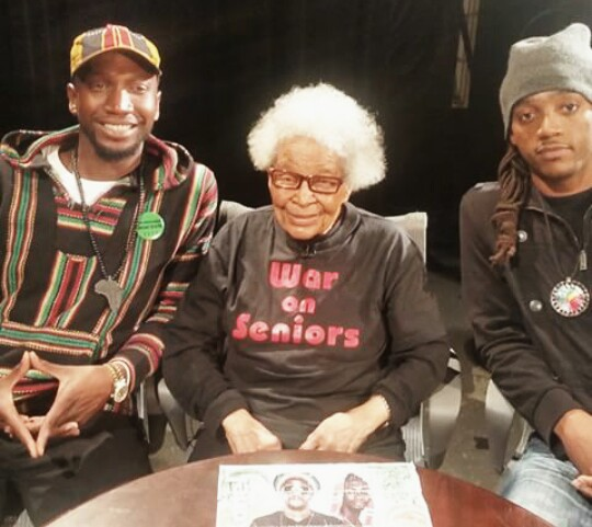 Afrikan Kartel @ MNN Studios on the World Renowned Florence M. Rice Show!!!!!! #History In the Present