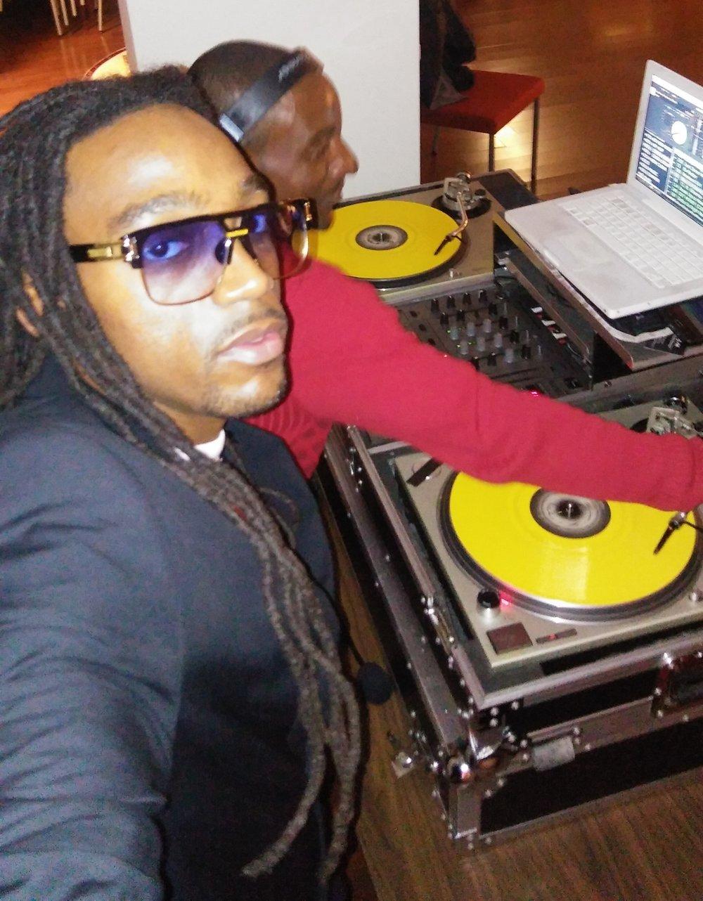 Image-I/ Afrikan Kartel w/ DJ ALI Hosting & Toasting @ Graduation Party