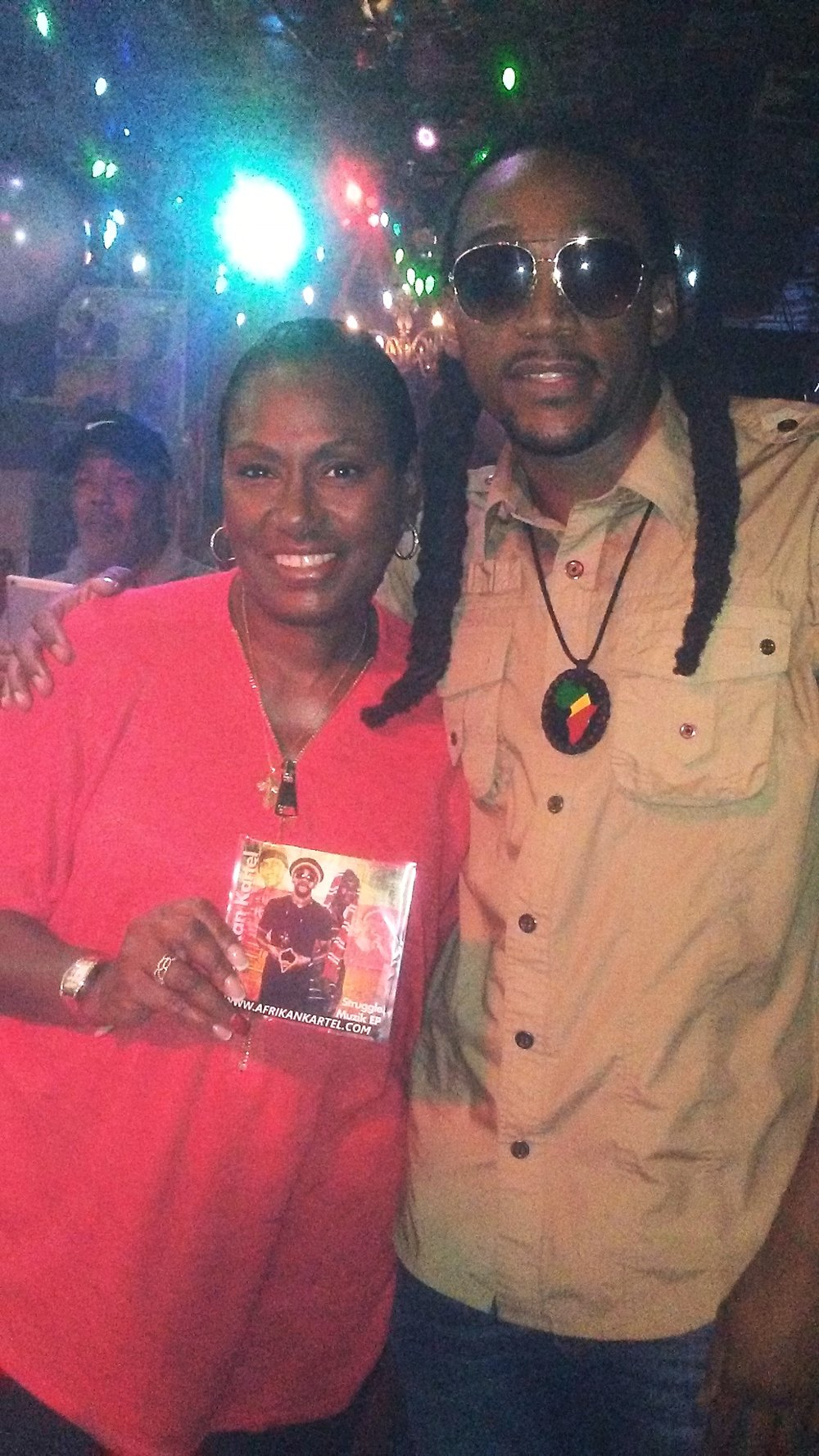 "Image-I/ Afrikan Kartel w/ Maria Davis For ""Mad Wednesdays"""
