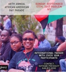 Afrikan Kartel African American Day Parade Sponsorship Float Flyer