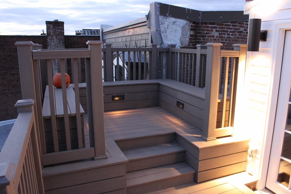 rooftop deck Godfrey Design-Build