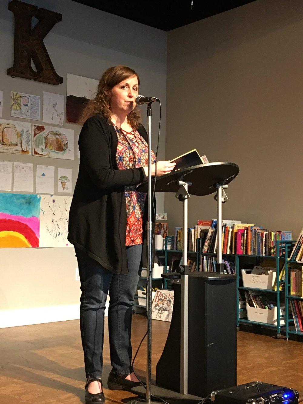 Spokane Poet Laureate Laura Read