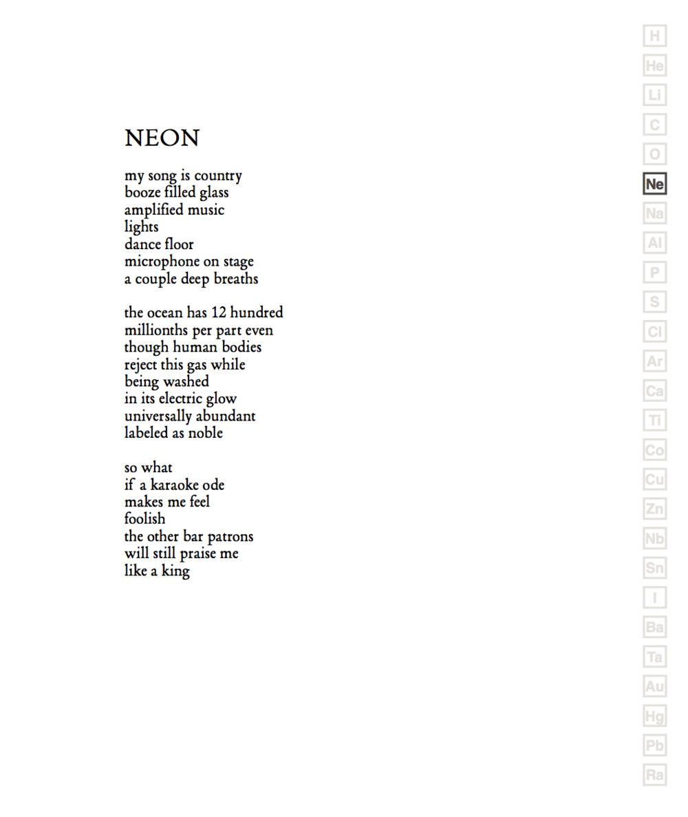 Travis poem