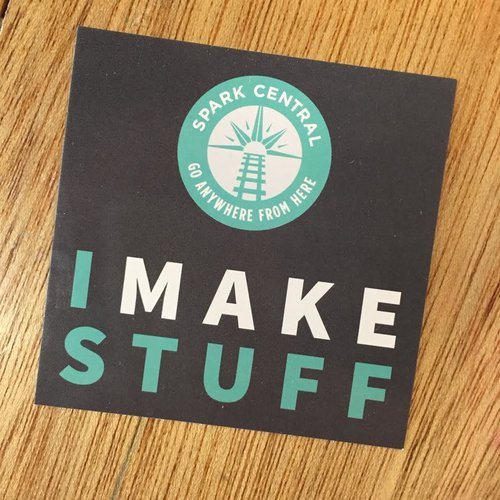 I make stuff stickers