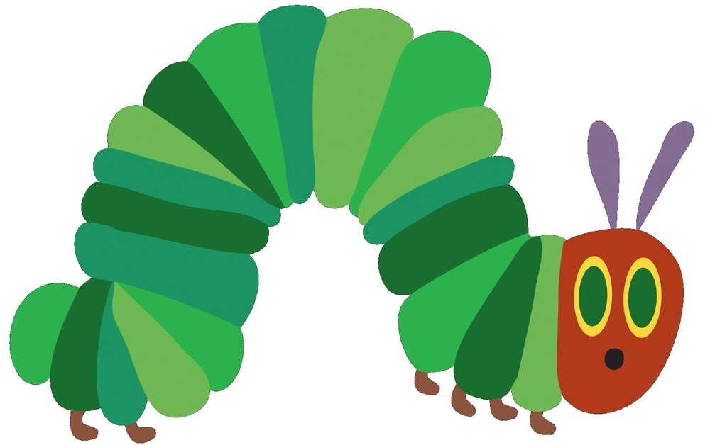 story craft the hungry caterpillar spark central rh spark central org  very hungry caterpillar clipart black and white
