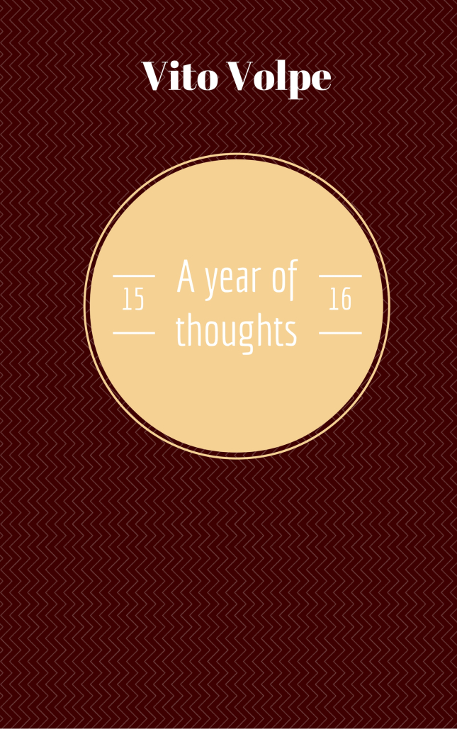 A year of thoughts 15/16