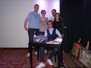 Lesung im kulturcafé in grevenmacher (28.04.2017)