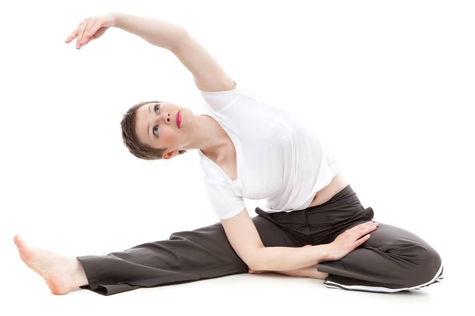 Avslutt en lang arbeidsdag med stretching