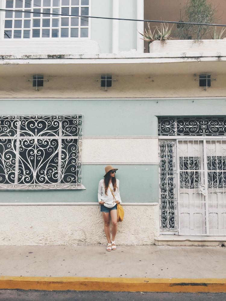 Architecture in Merida, Mexico