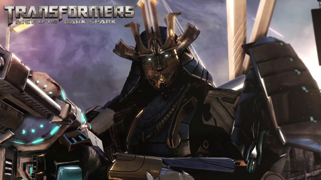 "CJA joins the Autobots as ""Drift"" in Transformers Rise of the Dark Spark"