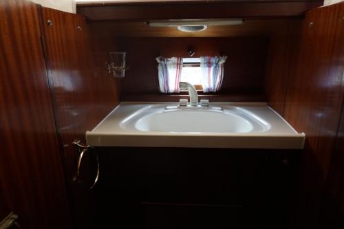 traditional sailing yacht sink.JPG
