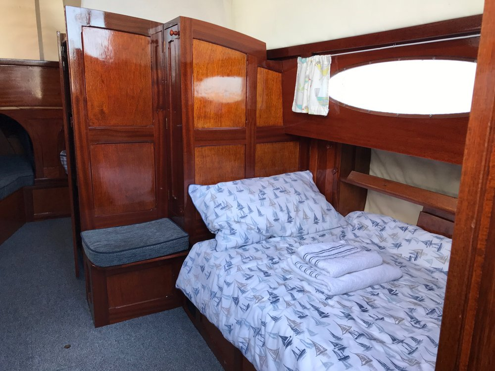 Copy of Sleeping on a Traditional yacht